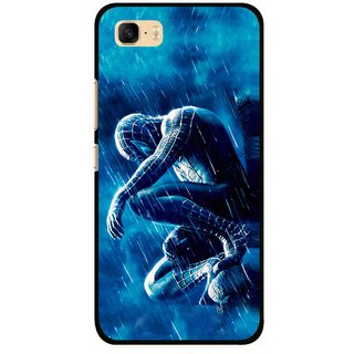 Snooky Printed Blue Hero Mobile Back Cover For Asus Zenfone 3s Max ZC521TL - Multi