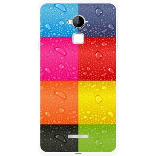 Snooky Printed Water Droplets Mobile Back Cover For Coolpad Note 3 - Multi
