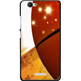 Snooky Printed Basketball Club Mobile Back Cover For Gionee M2 - Multi