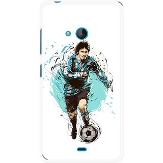 Snooky Printed Have To Win Mobile Back Cover For Nokia Lumia 540 - Multicolour