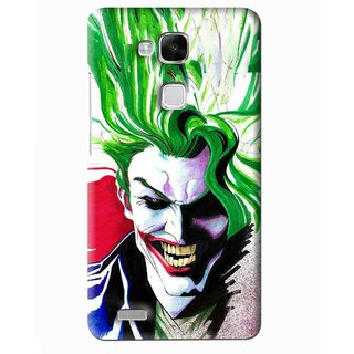 Snooky Printed Joker Mobile Back Cover For Huawei Ascend Mate 7 - Multi