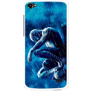 Snooky Printed Blue Hero Mobile Back Cover For Intex Aqua Star 2 HD - Multi
