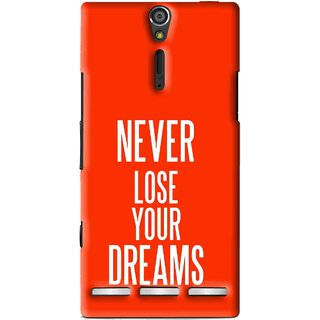 Snooky Printed Never Loose Mobile Back Cover For Sony Xperia S - Multi
