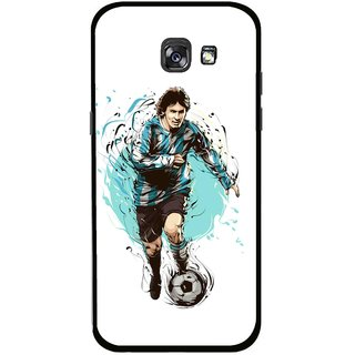 Snooky Printed Have To Win Mobile Back Cover For Samsung Galaxy A7 (2017) - Multicolour