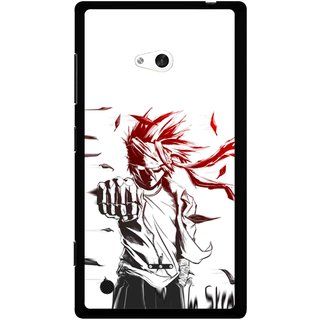 Snooky Printed Marshalat Mobile Back Cover For Nokia Lumia 720 - Multicolour