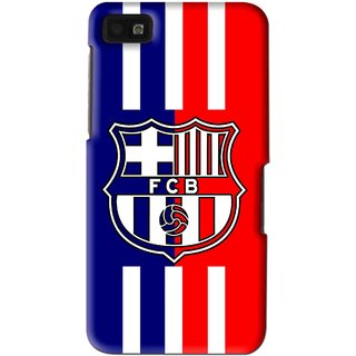 Snooky Printed Football Club Mobile Back Cover For Blackberry Z10 - Multi