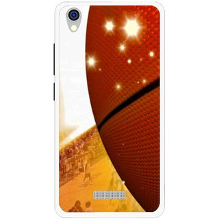 Snooky Printed Basketball Club Mobile Back Cover For Lava Iris X9 - Multi