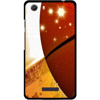 Snooky Printed Basketball Club Mobile Back Cover For Micromax Canvas Unite 3 - Multi