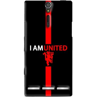 Snooky Printed United Mobile Back Cover For Sony Xperia S - Multi