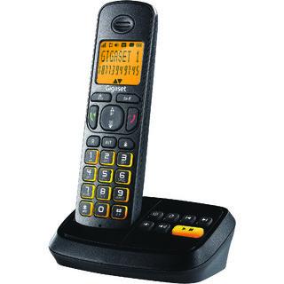 Gigaset A500A Black cordless landline phone with Answering Machine caller id speakerphone