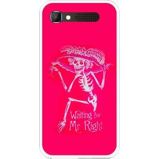 Snooky Printed Mr.Right Mobile Back Cover For Intex Aqua Y2 Pro - Multicolour