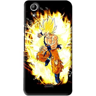 Snooky Printed Angry Man Mobile Back Cover For Micromax Canvas Selfie Lens Q345 - Multi