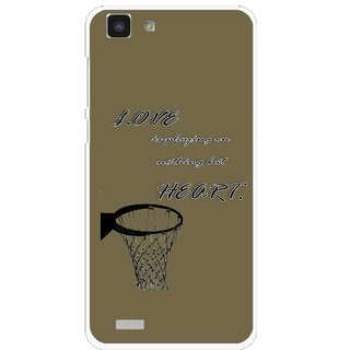 Snooky Printed Heart Games Mobile Back Cover For Vivo Y27L - Multi
