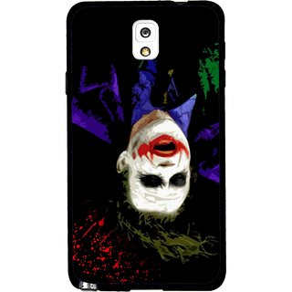 Snooky Printed Hanging Joker Mobile Back Cover For Samsung Galaxy Note 3 - Multicolour