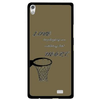 Snooky Printed Heart Games Mobile Back Cover For Gionee Elife S5.1 - Multi