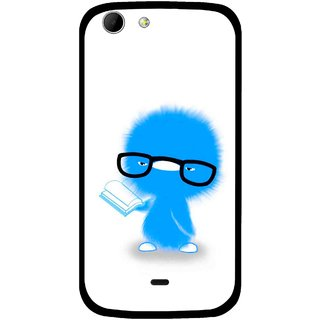 Snooky Printed My Teacher Mobile Back Cover For Micromax Canvas 4 A210 - Multicolour
