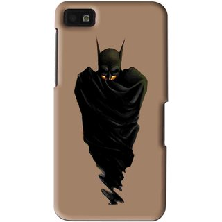 Snooky Printed Hiding Man Mobile Back Cover For Blackberry Z10 - Multi