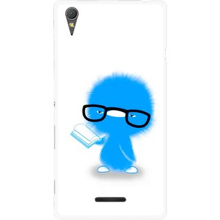 Snooky Printed My Teacher Mobile Back Cover For Sony Xperia T3 - Multicolour