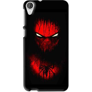 Snooky Printed Spider Eye Mobile Back Cover For HTC Desire 626 - Multi
