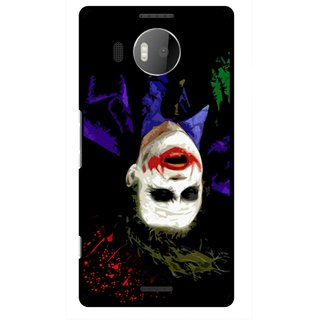 Snooky Printed Hanging Joker Mobile Back Cover For Microsoft Lumia 950 XL - Multicolour