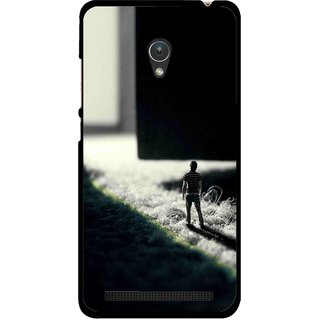 Snooky Printed God Door Mobile Back Cover For Asus Zenfone 5 - Multicolour