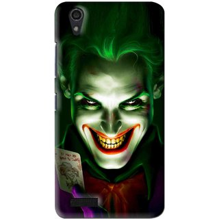 Snooky Printed Loughing Joker Mobile Back Cover For Lenovo A3900 - Multi