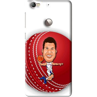 Snooky Printed Cricket Club Mobile Back Cover For Letv Le 1S - Multi
