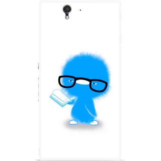Snooky Printed My Teacher Mobile Back Cover For Sony Xperia Z - Multicolour