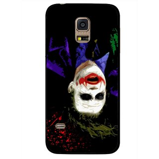 Snooky Printed Hanging Joker Mobile Back Cover For Samsung Galaxy S5 Mini - Multicolour