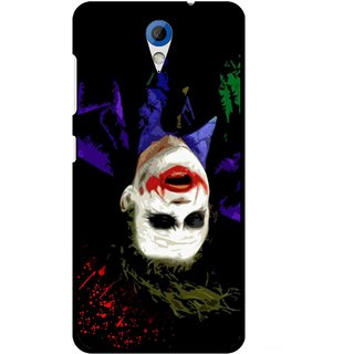 Snooky Printed Hanging Joker Mobile Back Cover For HTC Desire 620 - Multicolour