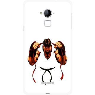 Snooky Printed Karate Boy Mobile Back Cover For Coolpad Note 3 - Multi