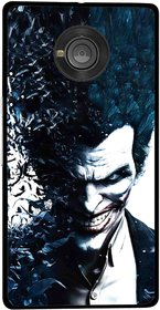 Snooky Printed Freaking Joker Mobile Back Cover For Micromax Yu Yuphoria - Multicolour