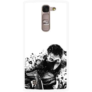 Snooky Printed Commando Mobile Back Cover For Lg Magna - Multi