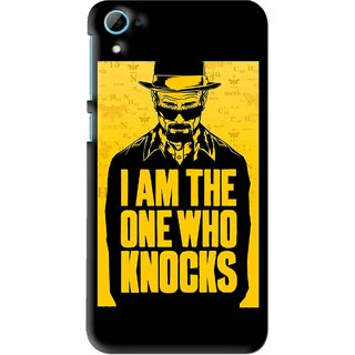 Snooky Printed Who Knocks Mobile Back Cover For HTC Desire 826 - Multi