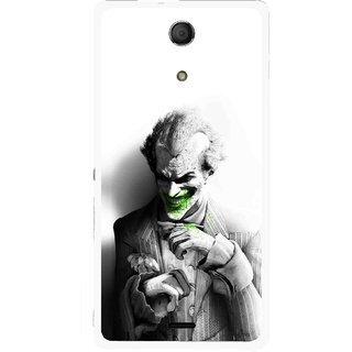 Snooky Printed Wilian Mobile Back Cover For Sony Xperia ZR - Multicolour