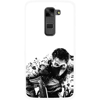 Snooky Printed Commando Mobile Back Cover For Lg Stylus 2 - Multi