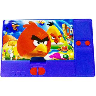 Priyankish Smart Kidz Angry Bird Jumbo Pencil Box (Set of 1, Blue)