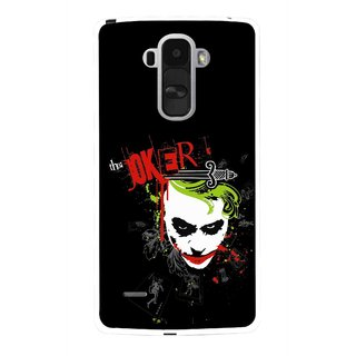 Snooky Printed The Joker Mobile Back Cover For Lg G4 Stylus - Multi