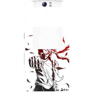 Snooky Printed Marshalat Mobile Back Cover For Oppo N1 - Multi