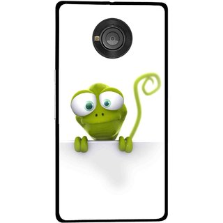 Snooky Printed Seeking Alien Mobile Back Cover For Micromax Yu Yuphoria - Multicolour