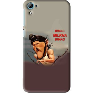 Snooky Printed Bhaag Milkha Mobile Back Cover For HTC Desire 826 - Multi