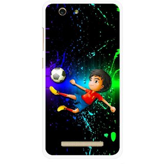 Snooky Printed High Kick Mobile Back Cover For Gionee F103 pro - Multi