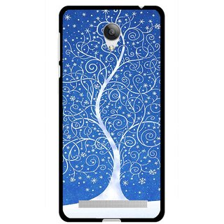 Snooky Printed Wish Tree Mobile Back Cover For Vivo Y28 - Multicolour