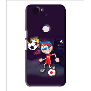 Snooky Printed My Game Mobile Back Cover For Huawei Nexus 6P - Multi