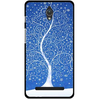 Snooky Printed Wish Tree Mobile Back Cover For Asus Zenfone C - Multicolour