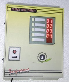 Wireless Nurse Call Bell System For 5 Beds Having Call And Cancel Buttons With High Glow Digital Numeric Display And Wi