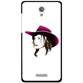 Snooky Printed Tom Boy Mobile Back Cover For Gionee Marathon M4 - Multicolour
