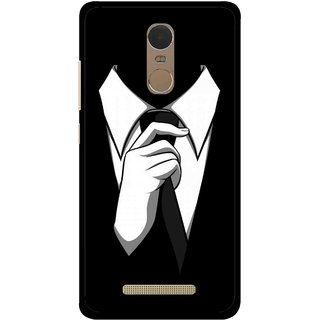 Snooky Printed White Collar Mobile Back Cover For Gionee S6s - Multi
