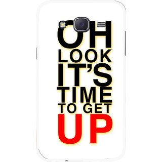 Snooky Printed Get Up Mobile Back Cover For Samsung Galaxy J7 - Multicolour