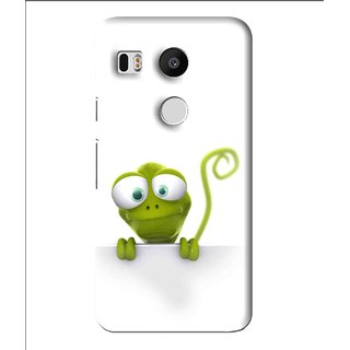 Snooky Printed Seeking Alien Mobile Back Cover For Lg Google Nexus 5X - Multi